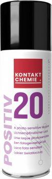Positiv 20, fotoérzékeny fénymáz spray, 200 ml
