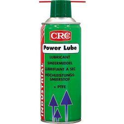 Nagyteljesítményű spray, kültéri kenőanyag PTFE (teflon) adalékkal, POWER LUBE, 400 ml