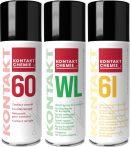 Spray szett: Kontakt 60, Kontakt 61, Kontakt WL 200 ml