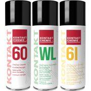Spray szett, Kontakt 60, Kontakt 61, Kontakt WL 200 ml