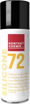 Silicone 72 spray, kiváló minőségű, szilikon alapú, viszkózus, szigetelő olaj, 200 ml
