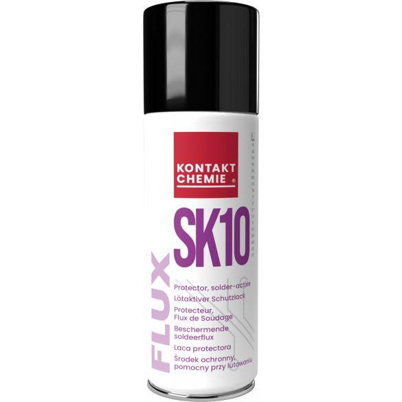 Flux SK 10 spray, forrasztási segédeszköz az áramköri kártyák oxidációja ellen, 200 ml