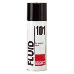 Fluid 101 de-watering agent and protective spray
