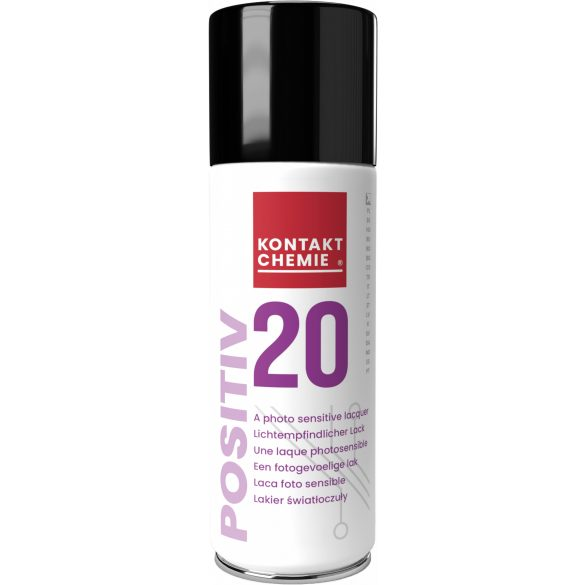 Positiv 20 photo-sensitive lacquer, 200 ml