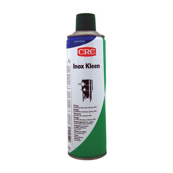 Water based, foaming cleaner for degreasing and cleaning shiny metal surfaces, INOX KLEEN (FPS), 500 ml