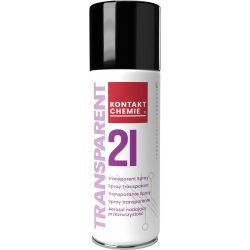 Transparent 21 spray