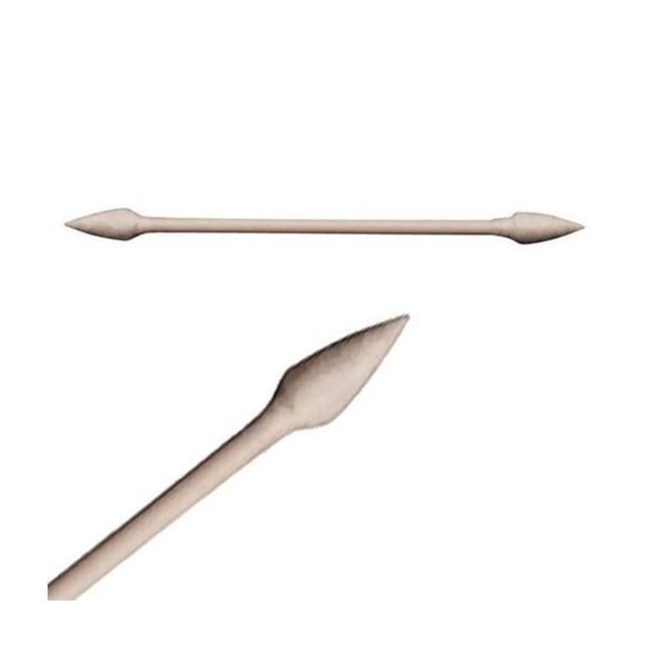 Tisztító pálcika, mindkét végén hegyes pamut bevonattal, 30 db