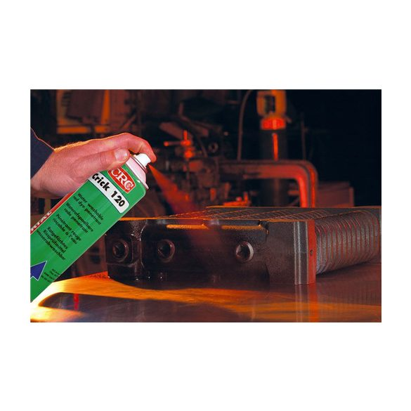 Water washable red dye - penetrant spray, CRICK 120 - NDT PENETRANT, 500 ml