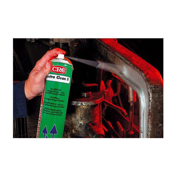 LECTRA CLEAN II, Zsíroldó elektro-motorokhoz és mechanikai elemekhez, extra hatékonyságú spray,500 ml