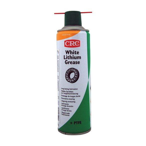 WHITE LITHIUM GREASE + PTFE fehérlítiumos zsírspray PTFE (teflon) adalékkal, 500 ml