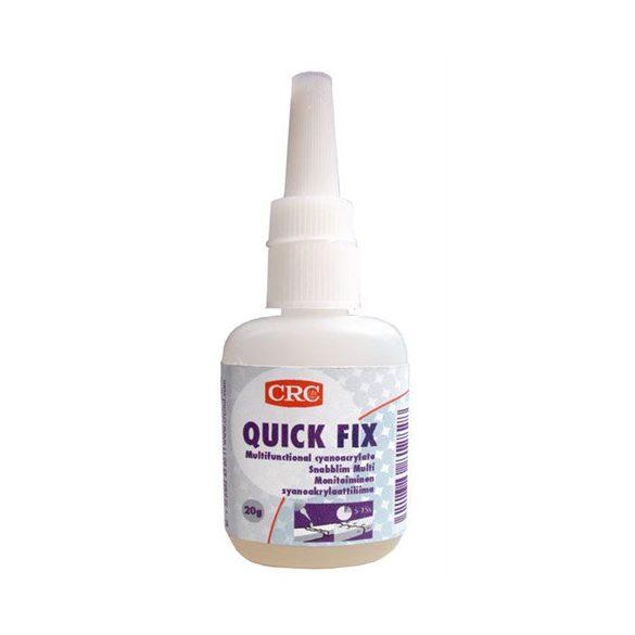 QUICK FIX BLISTER Univerzális pillanatragasztó - cianoakrilát 20 g