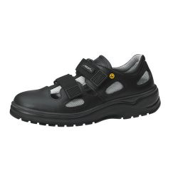 ESD security shoes, black, with velcro 44