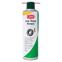 Synthetic bearing grease spray for high performance at ultra low temperatures, LOW TEMP GREASE, 500 ml