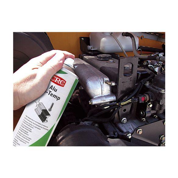 ALU HI-TEMP, Hőálló (650°C-ig) alumínium fényt adó korrózióvédő bevonat spray, 500 ml
