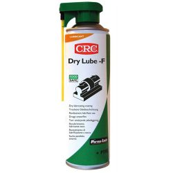 Dry lubricant spray with PTFE in food industry , DRY LUBE-F (FPS), 500 ml