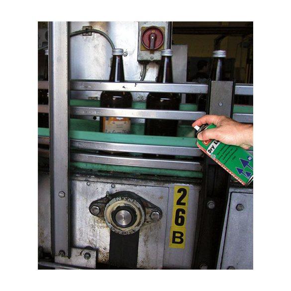 DRY LUBE-F (FPS) élelmiszeripari száraz kenőanyag PTFE (teflon) adalékkal 500 ml