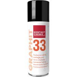 Graphit 33, kollodiális grafit spray, elektromosan vezető bevonatot biztosít 200 ml