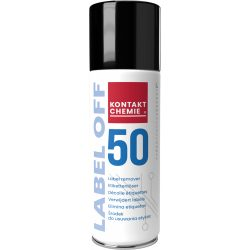 Label Off 50 remover spray of self adhesive labels