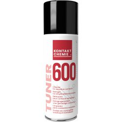 Tuner 600 cleaning spray of electrical equipment