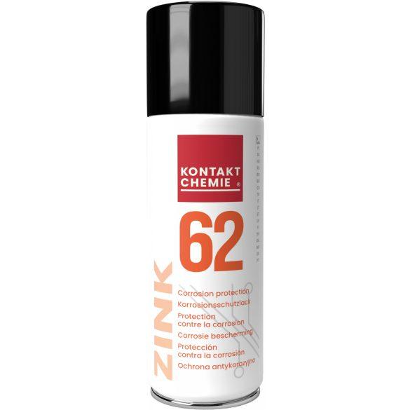 Zink 62, cink alapú galván rozsdavédő spray, 200 ml