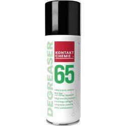 Degreaser 65 spray, elektromos motorok és berendezések zsírtalanítására, 200 ml