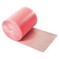 Légbuborék fólia, antisztatikus, rózsaszín, 1200mmx100m.