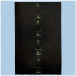 Fekete ESD zacskó (100 db./csomag)