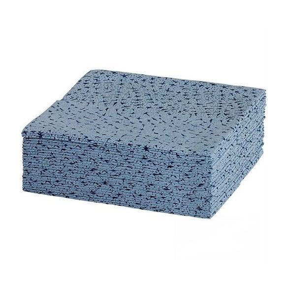 Antisztatikus törlőkendő, WIPEX-STAR, kék, 300x380mm. 500 db/cs.