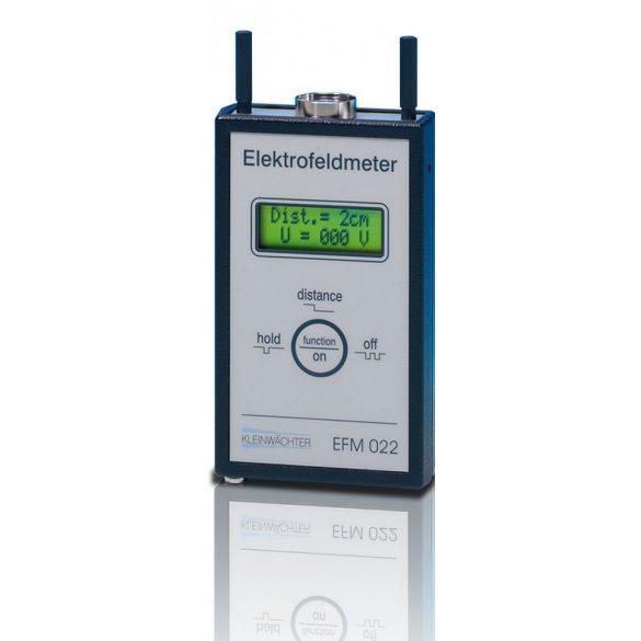 Electrofeldmeter EFM 022, feltöltődés mérő