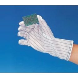 Antistatic gloves with long shaft, size: L