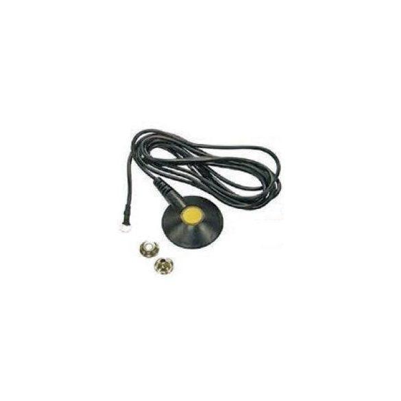 Földelő kábel 3m. 1MOhm, 10.3 anya patent – 5mm gyűrűvel, lerúgás biztos fejjel