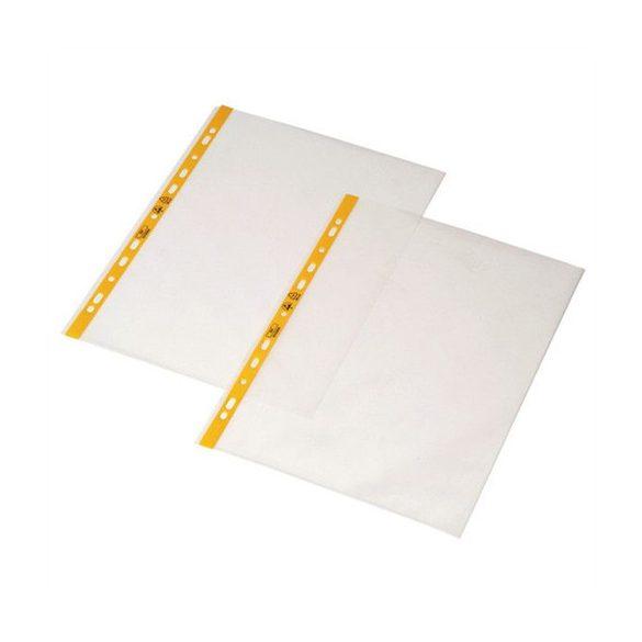 ESD GENOTERM, lefűzhető irattartó tasak, DIN A3, a tetején nyitott