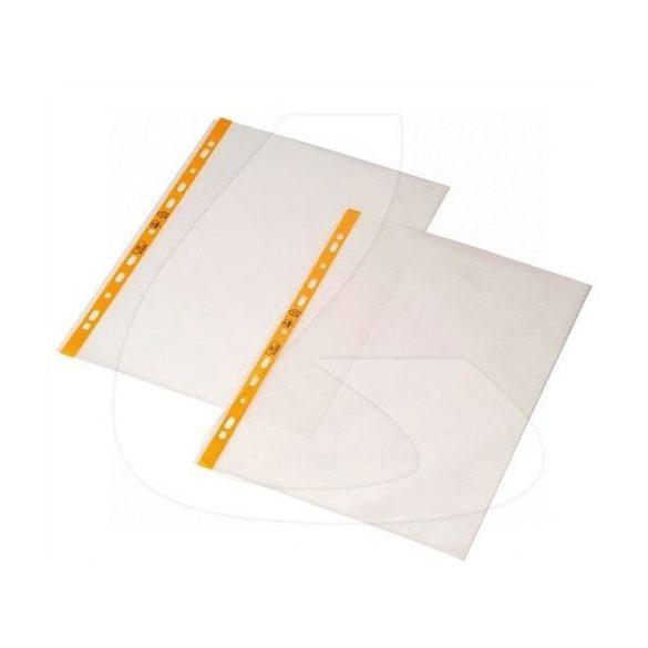 ESD GENOTERM, lefűzhető irattartó tasak, DIN A4, a tetején nyitott (100db/csom)