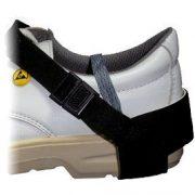 ESD cipősarok földelés, 1Mohm ellenállás, csatos kivitel, minden cipőméretre