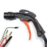 Ionizáló pisztoly, 30 mm ring típusú fejjel, 1,5 m kábellel, tápegységgel