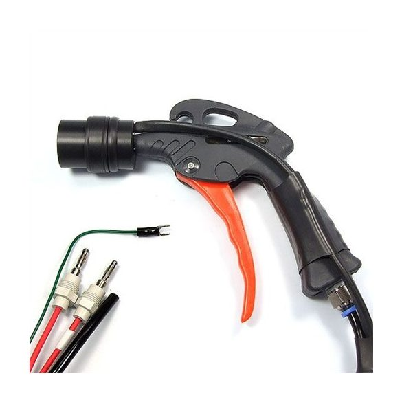 Ionizer gun with 30 mm ring head, 1,5 m long cable and power supply