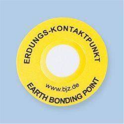 Etikett, EBP, PVC, átmérő 30mm. 12 db/ív