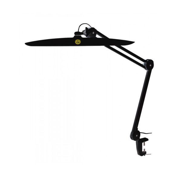 Asztali ESD lámpa, LED-es, fekete