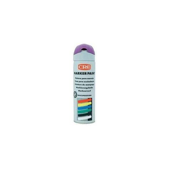 CRC Marker Paint - jelölő festék, lila, fluoreszkáló