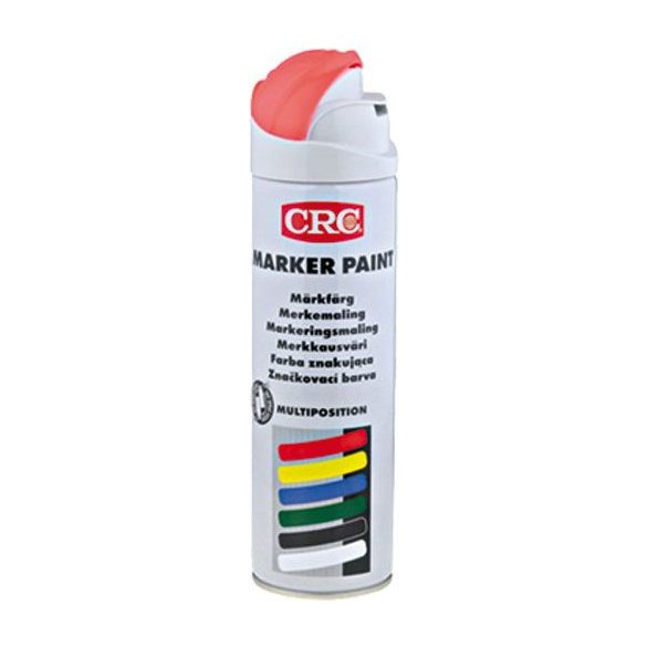 CRC Marker Paint - jelölő festék, piros