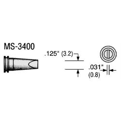 Plato pákahegy WELLER forrasztó állomáshoz MS-3400