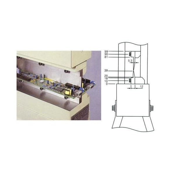 Panelvágó gép, NTG-350, pneumatikus