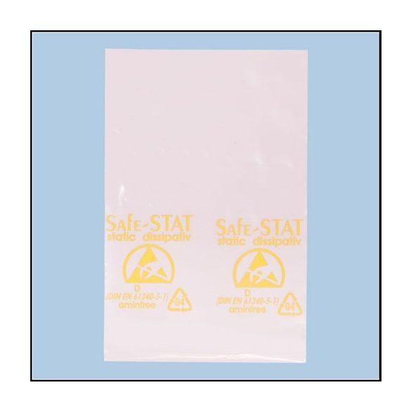 Rózsaszín antisztatikus zacskó (100 db./csomag)