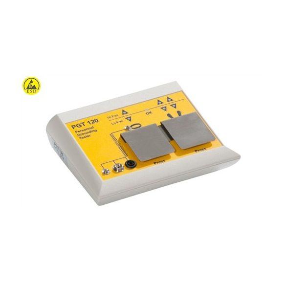 ESD csuklópánt és lábbeli teszter - PGT120