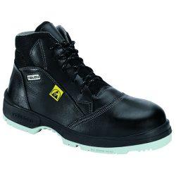 ESD safety shoes with non-ferous toe cap, black 39