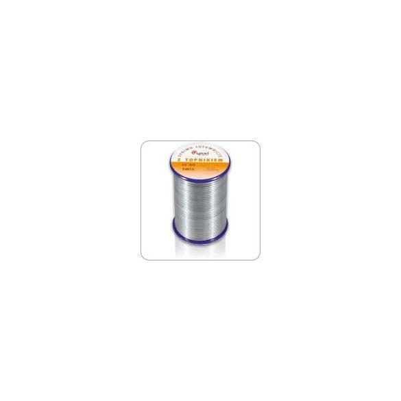 Forrasztóón, Sn60 Pb38 Cu 2% átm.: 0,5 mm, 500 gr