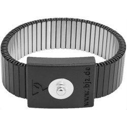 Csuklópánt fém, fekete 4 mm  patenttal