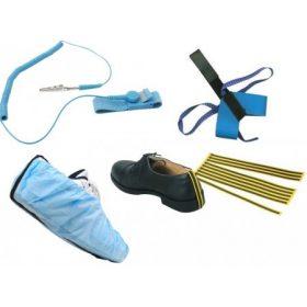 ESD cipősarok földelés, ESD csuklópánt